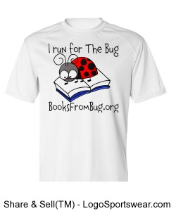 Books From Bug Adult B-Dry Core Short-Sleeve Performance Tee by Badger Sports Design Zoom